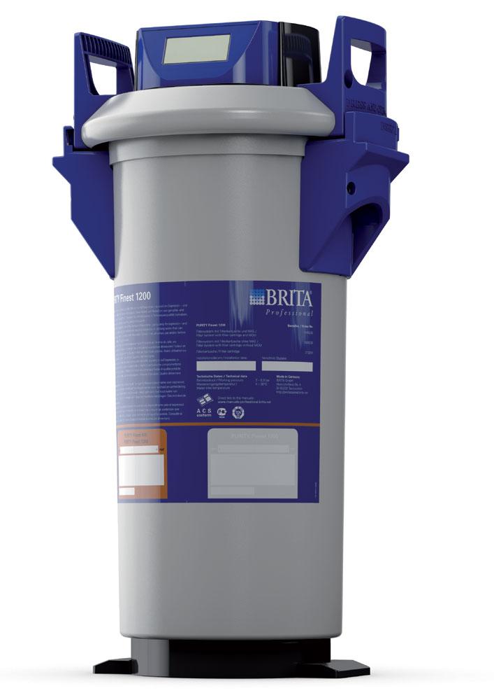 Brita Purity Finest 1200 komplettes Filtersystem mit MAE