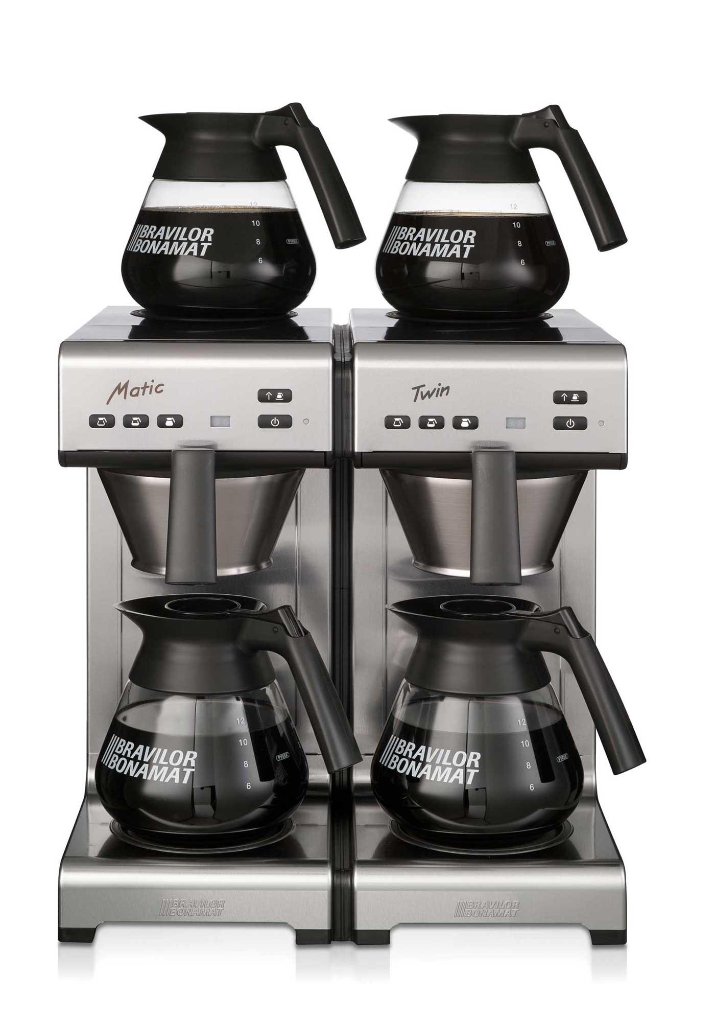 Bravilor Bonamat Matic Twin Filterkaffeemaschine, 230V od. 400V