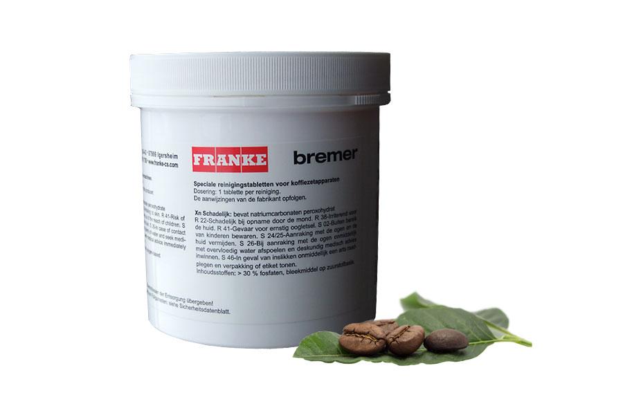 120 Tabletten bzw. Reinigungstabletten für Franke Evolution gastronomie Kaffeevollautomat