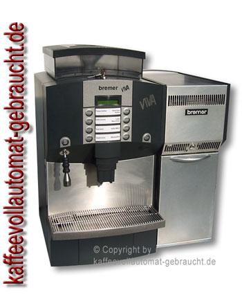 Gastronomie Kaffeemaschine Bremer Viva + Bremer Milchkühlschrank