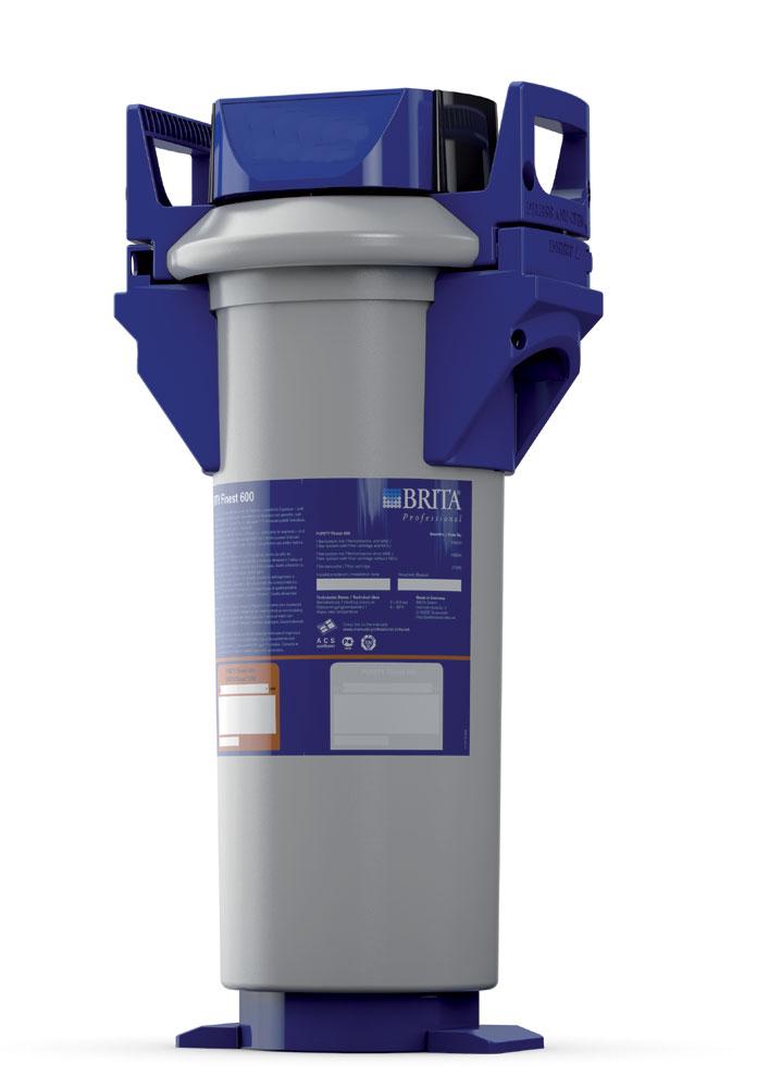 Brita Purity Finest 600 komplettes Filtersystem