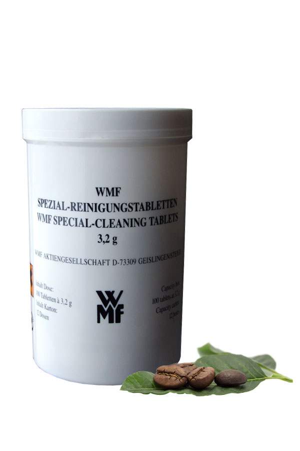 100 Spezial- Reinigungstabletten für WMF Bistro Kaffeevollautomat