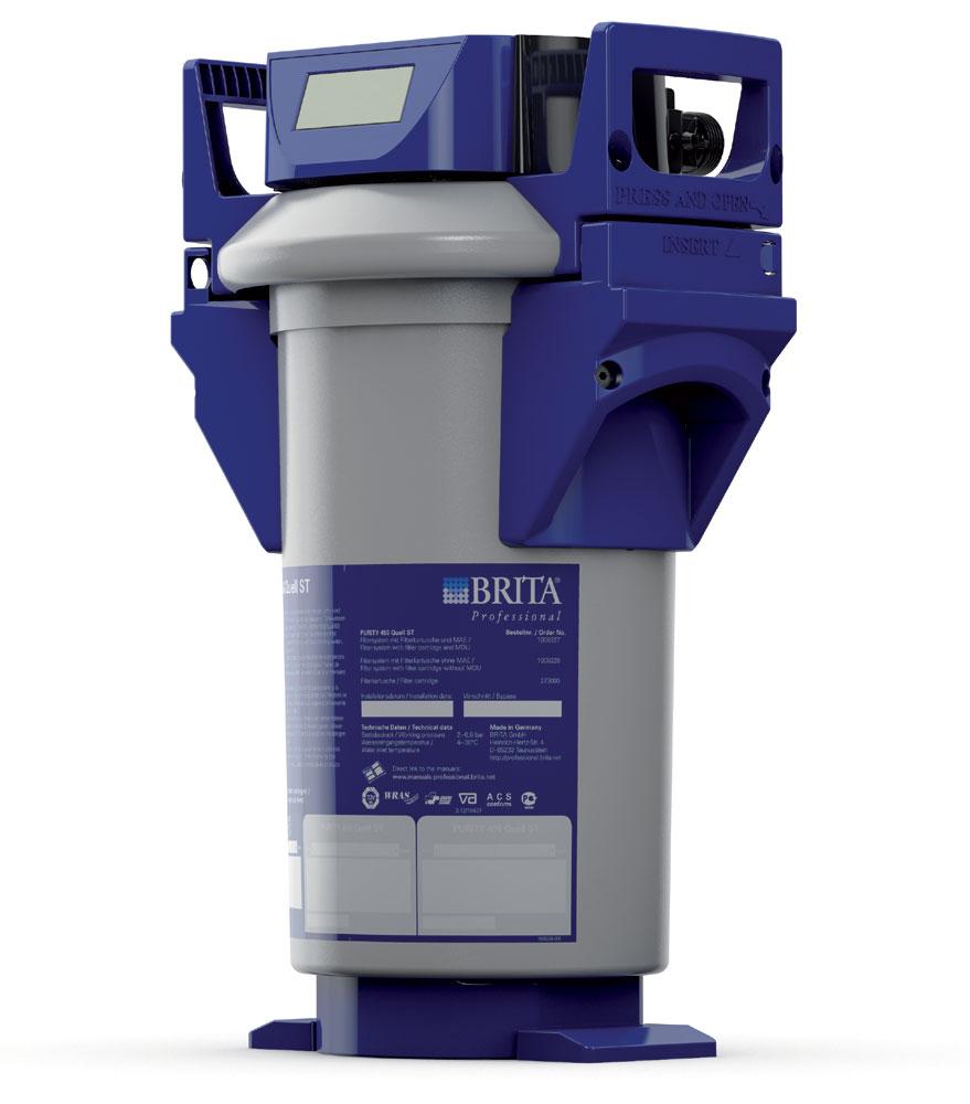 Brita Wasserfilter Purity - Display