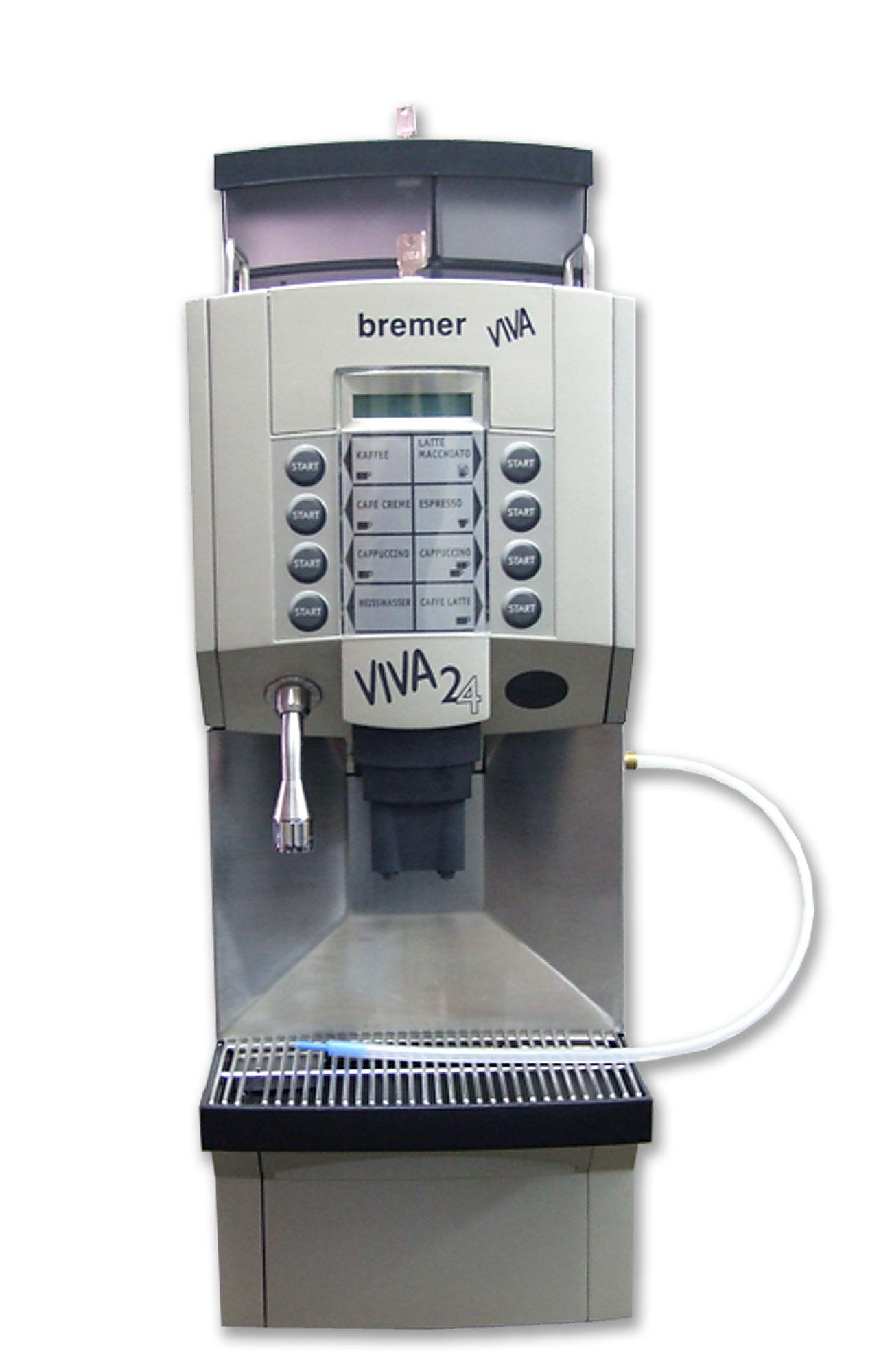 gebrauchte gastronomie Kaffeemaschine bremer Viva 24 mit 6 Monate Garantie
