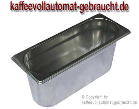 4L Edelstahl Milchbehälter
