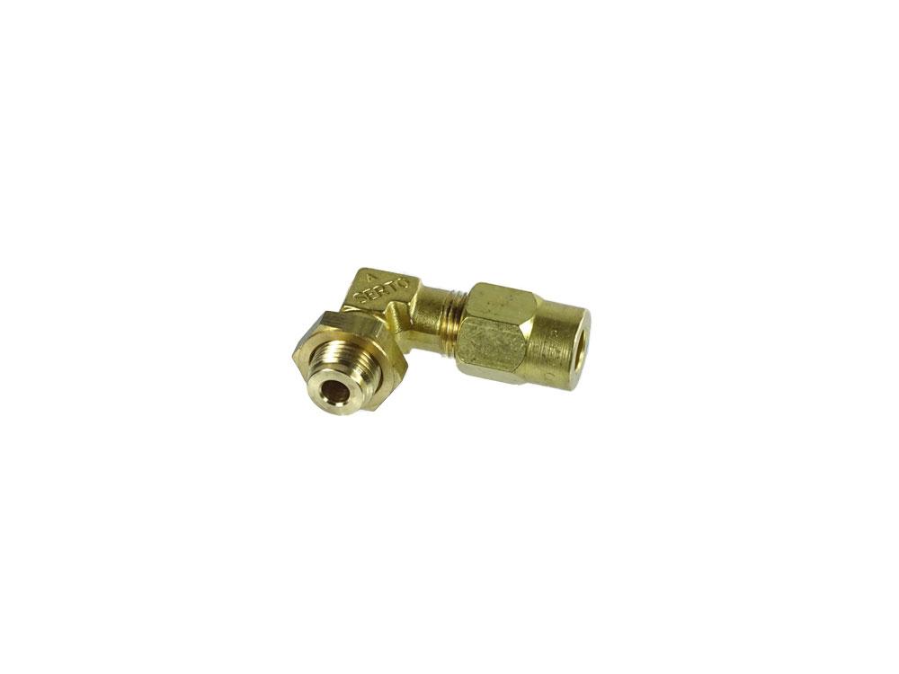 90° Schraubanschluss für Pumpe, Winkelanschluss Schäumerspülung