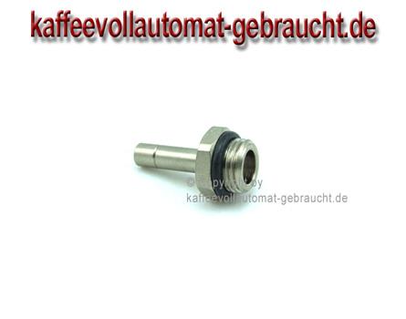 """1/8""""AG inkl. Dichtring mit 6mm Rohrstutzen"""