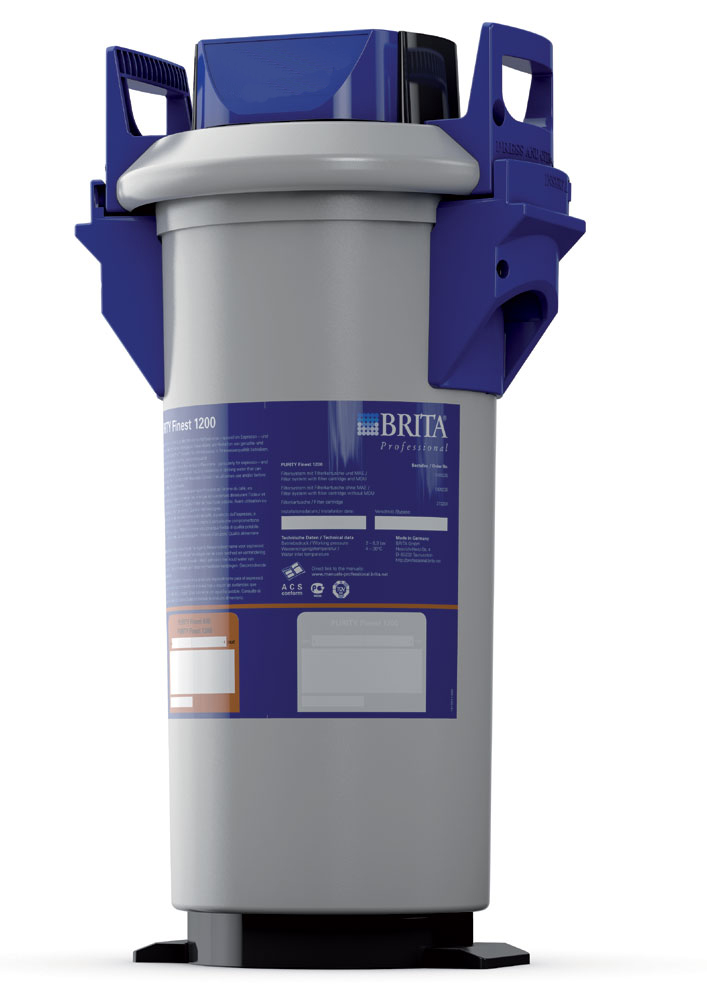 Brita Purity Finest 1200 komplettes Filtersystem
