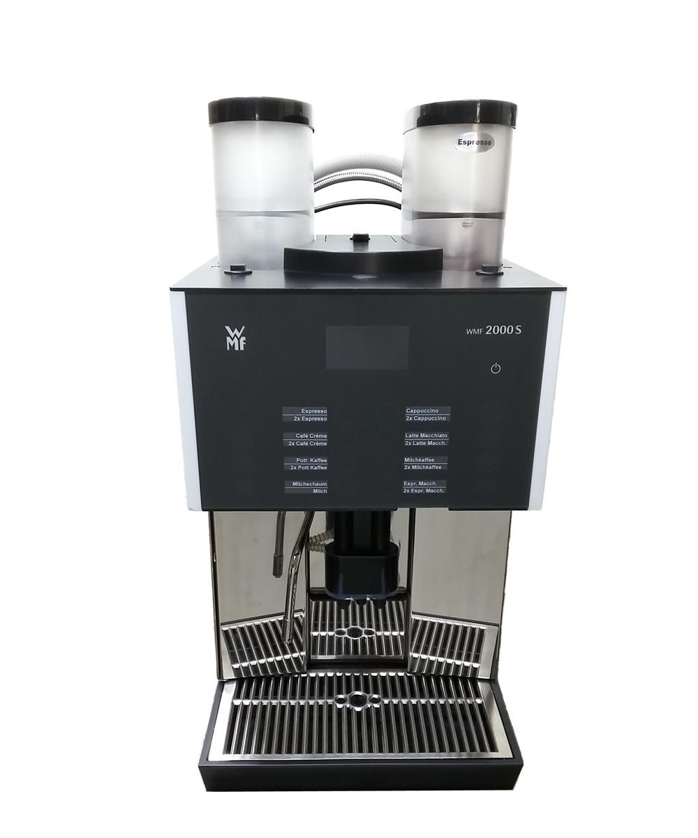 WMF 2000S, 2 Mahlwerke, Frischmilch, Plug&Clean, 230V
