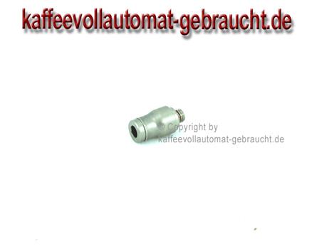 I-Steckanschluss mit M5 AG für 4mm Schlauch