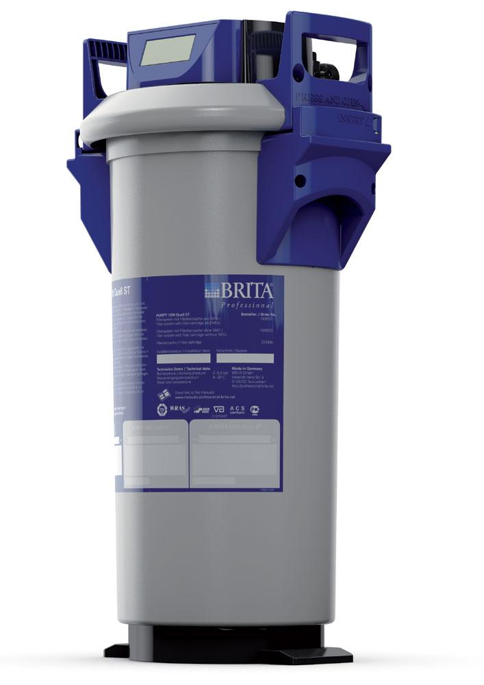 Brita Purity 1200 Quell ST mit MAE, komplettes Filtersystem