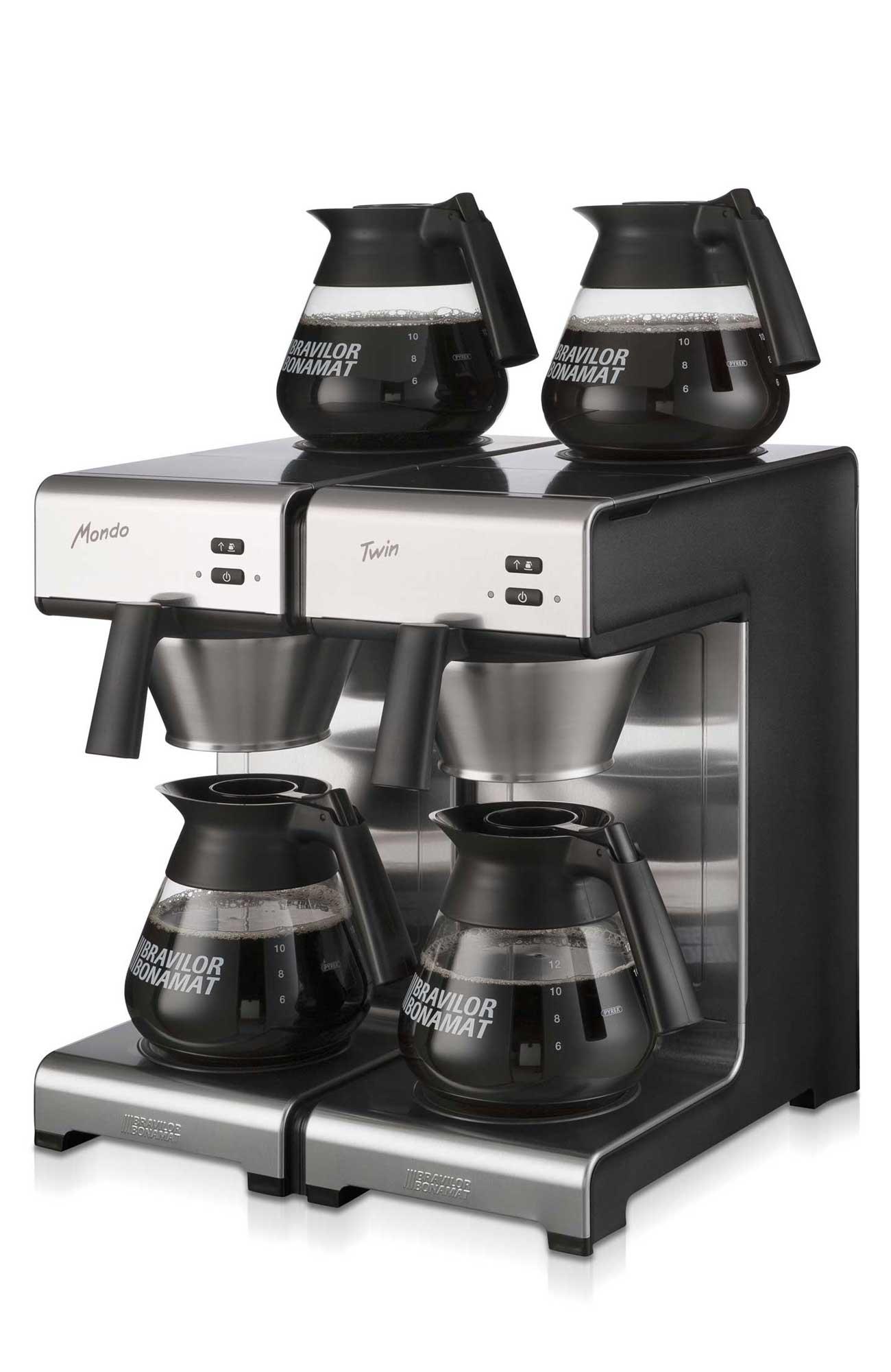 Bravilor Bonamat Mondo Twin Filterkaffeemaschine, 230V od. 400V