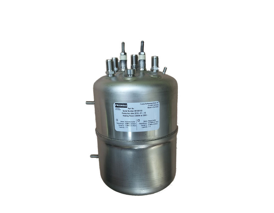 Neuer Boiler, Kessel für Franke Spectra, 230V, Heißwasserboiler