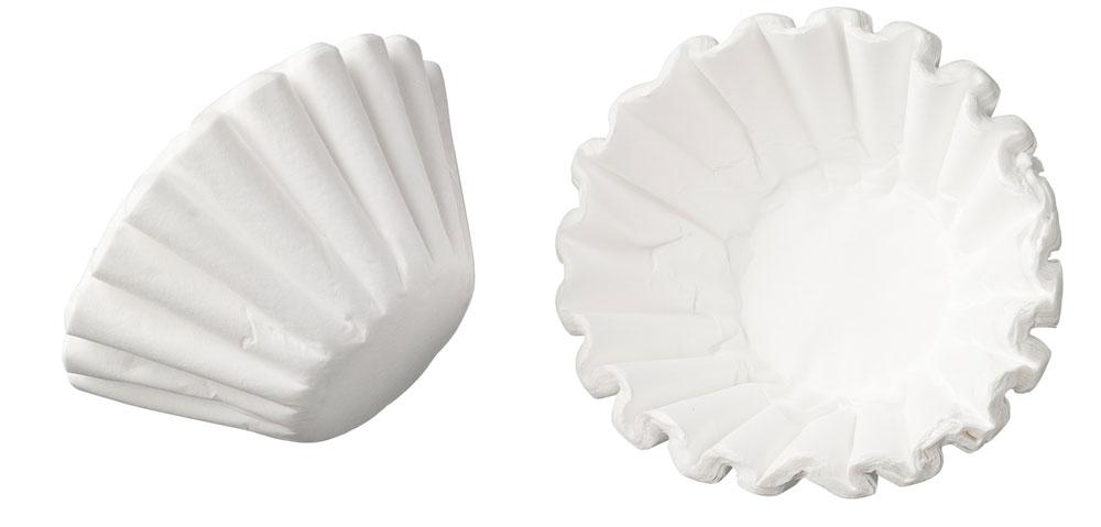 250x Filterkörbchen, Korbfilterpapier für Bonamat B20