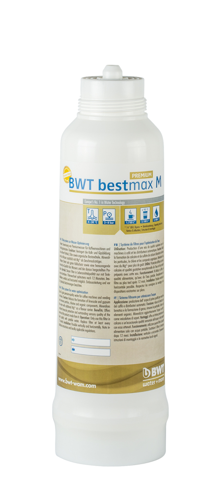 BWT bestmax PREMIUM M Filterkerze, Ersatzfilter, Austauschfilter
