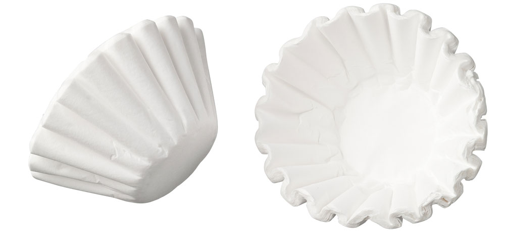 250x Filterkörbchen, Korbfilterpapier für Bonamat B40