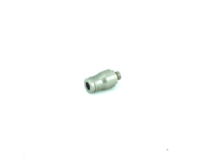 I-Steckanschluss mit M5AG inkl. Dichtring für 4mm Schlauch
