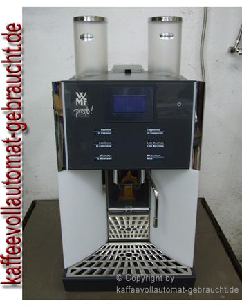 WMF Kaffeevollautomat Presto mit Festwasseranschluss